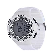 montre de sport mixte - blanc