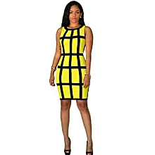 c4499a8606d Women Bodycon Dresses Bandage Cocktail Sleeveless Evening Party