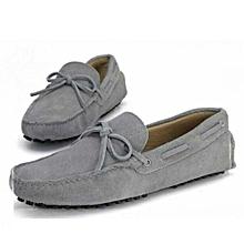 Chaussure Homme En Mocassin Bateau à Lacets (Petite Pointure) - Gris d66600e72e79
