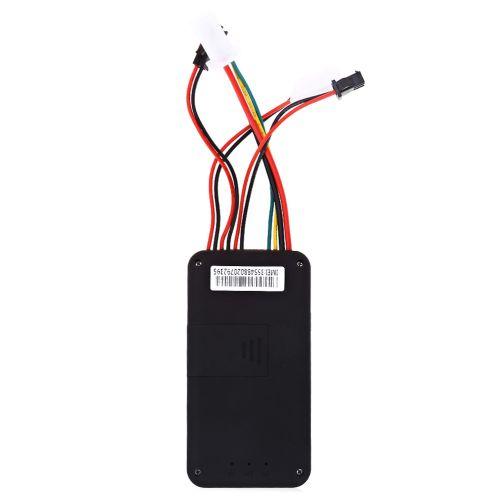 Traceur GPS Espion GSM GPRS GT06 En Temps Réel à Alarme Antivol Véhicule  - Noir
