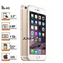 iphone 6 plus - 5.5'' -4g lte - 64go rom - 1go ram - 8mpx - or - protège offert - reconditionné - garantie 12 mois