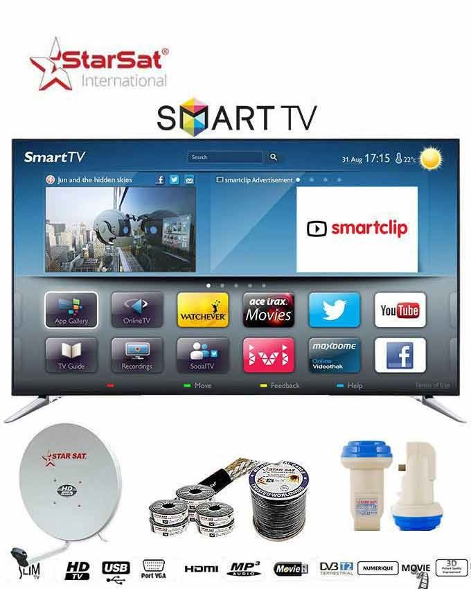 Tv home cin ma star sat acheter en ligne jumia c te - Tv avec decodeur satellite integre ...
