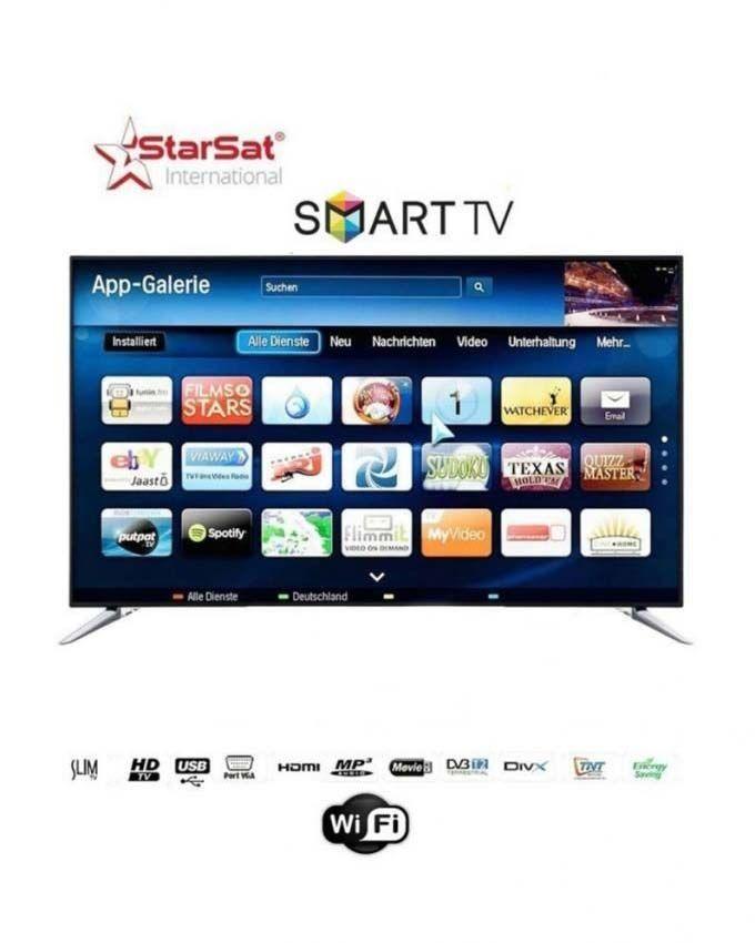 Star sat tv smart led ultra slim 65le19s 65 pouces avec - Tv avec decodeur satellite integre ...