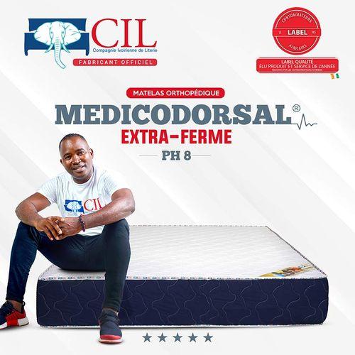 product_image_name-Cil-Matelas Orthopédique 2 Places PH8- MEDICODORSAL® Brodé EXTRA FERME- 190X140Cm-1