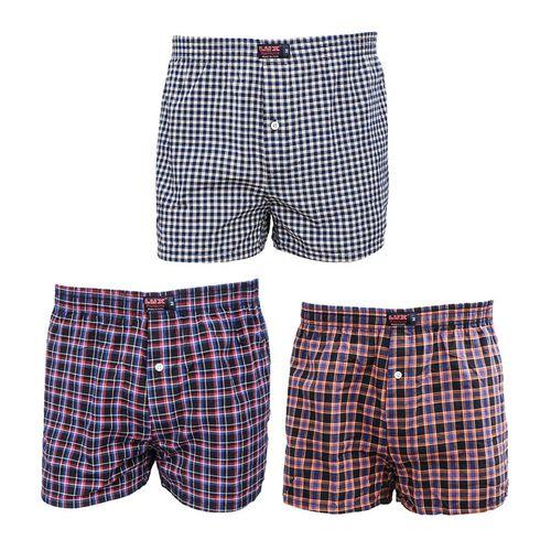 product_image_name-Fashion-Lot De 3 Boxers Hommes - Multicolore-1