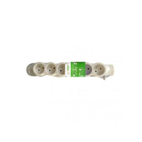 Rallonge Multiprise 6 Prise Blanc