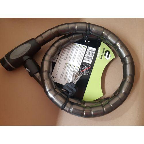 leroy merlin câble antivol à clé  long12m x diam22 mm