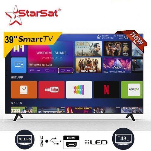 """Star Sat TV LED 39"""" Pouces Smart TV Wifi - Full HD - Noir ..."""