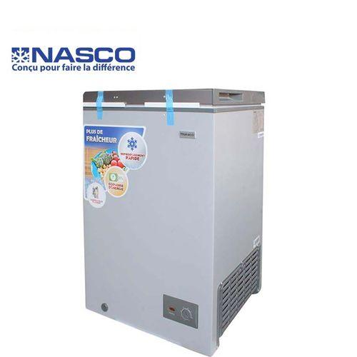 product_image_name-Nasco-Congélateur Coffre NAS-150 - 110 Litres - Blanc/Gris - Garantie 12 Mois-1