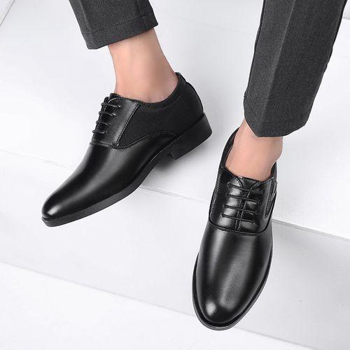 product_image_name-Fashion-Souliers à Lacet - Homme - Noir-3