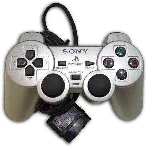 product_image_name-Generic-Manette PS2 Avec Fil - Gris Ou Noir-1