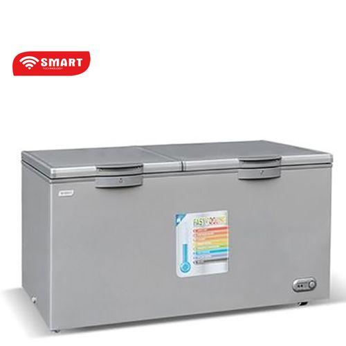 product_image_name-SMART TECHNOLOGY-Congélateur Coffre STCC-640 - 600 L - Gris - Garantie 12 Mois-1