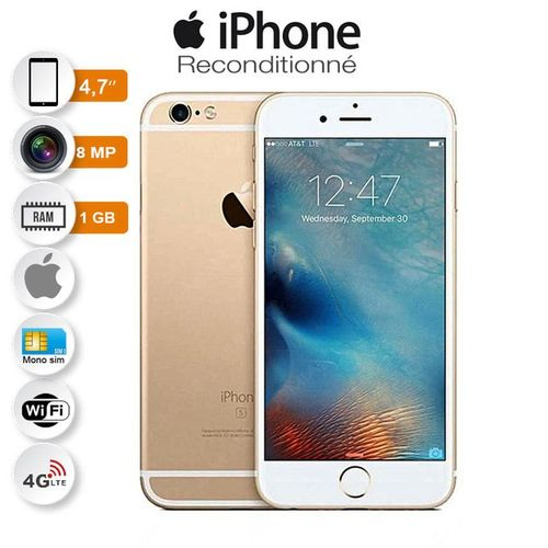 Iphone 6 4g Lte 47 116go 12mp Emprunte Garantie 6 Mois