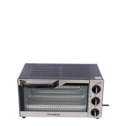 product_image_name-Nasco-Mini Four Électrique - TO9523-GS - 14 Litres - 1300W - Gris/Noir -Garantie: 3 Mois-4