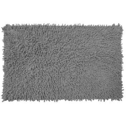 leroy merlin tapis de bain gris  44x70 cm  shaggy