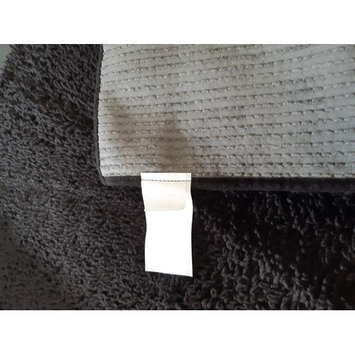 leroy merlin tapis de bain noir  80x50 cm  bouclettes