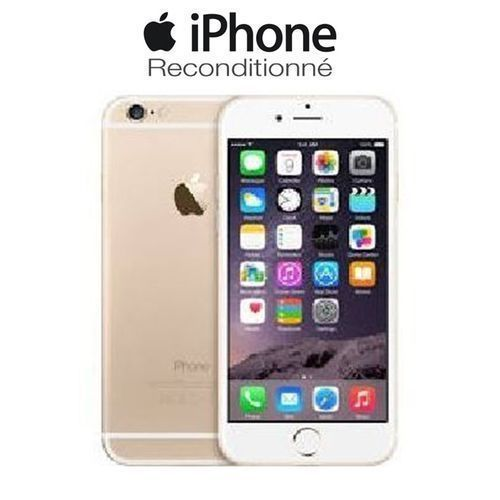product_image_name-Apple-IPhone 6 Plus - 5.5'' - 4G LTE - 1/16 Go - 8Mpx - OR - Reconditionné - Garanty Smart 3 Mois-4