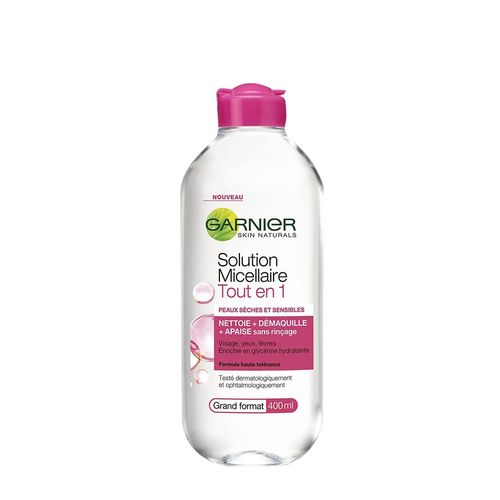 product_image_name-Garnier-Garnier Skin Naturals Solution Micellaire Tout En 1 Petit Format 100 ml – Rose-1