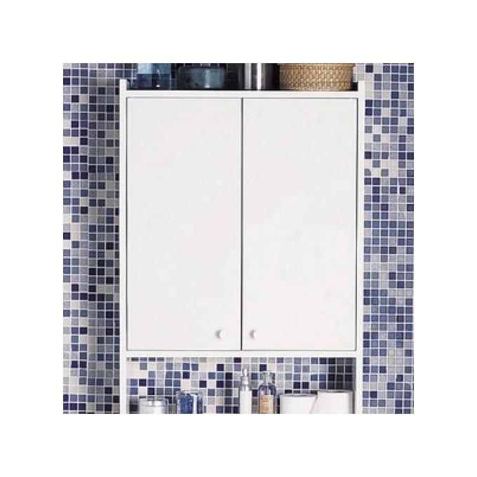 Meuble Pour Wc à Poser Blanc L60 X H182 X P16cm