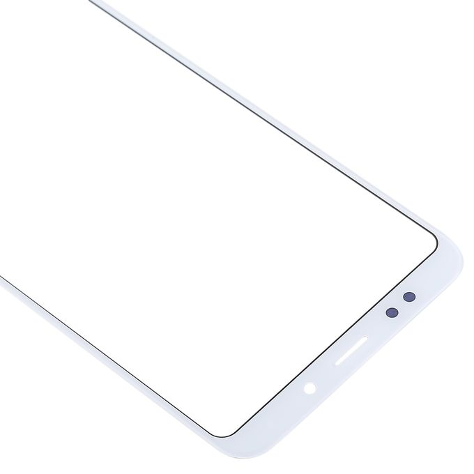 Front Screen Outer Glass Lens For Xiaomi Redmi Note 5 White