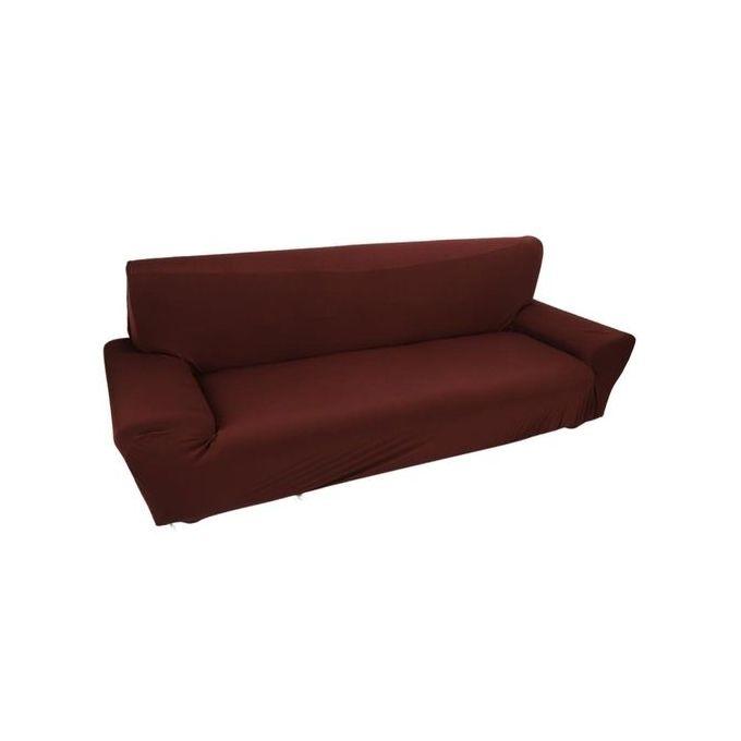 universal housse pour canapé de 3 places  marron  prix