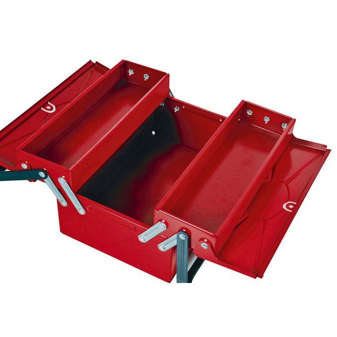 Boîte à Outils Métallique 3 Cases Longueur 31 Cm Caisse