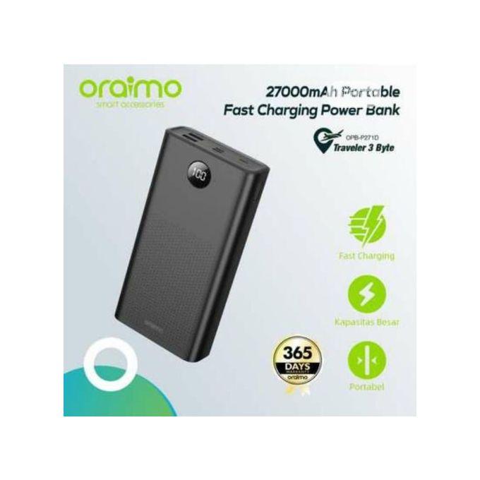 product_image_name-Oraimo-As Oraimo PowerBank 27 000 Mah - Noir-3
