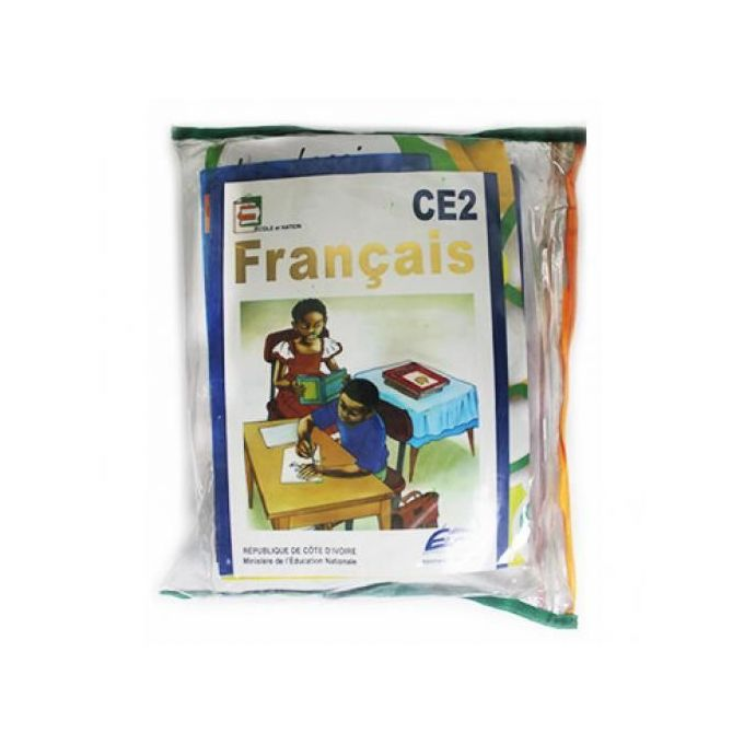 product_image_name-Books-Ensemble Kit Scolaire COMPLET - CE2 + SAC FILLE OFFERT-1