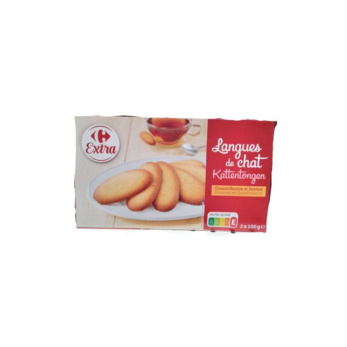 Biscuits Langues De Chat 200g