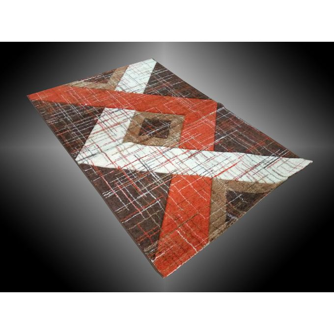 Tapis Salon - Marron Orange 160 X 220cm