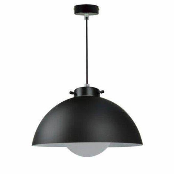 Suspension Kiruna Métal Et Verre Diam 30cm Ampoule E27 60 W Maxi