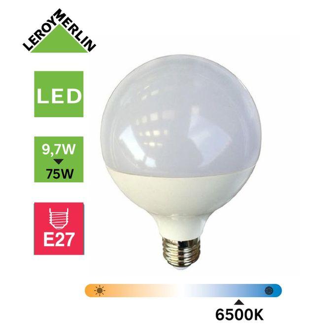 Ampoule Led Globe Culot E27 à Vis 97w équiv 75w 6500k Led