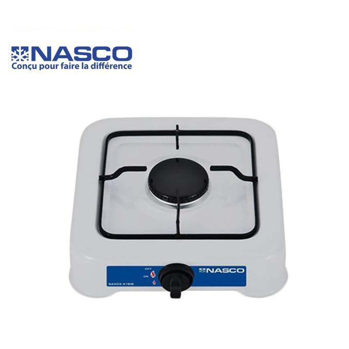 product_image_name-Nasco-Rechaud à gaz - 1 feux  - Blanc /Noir-1