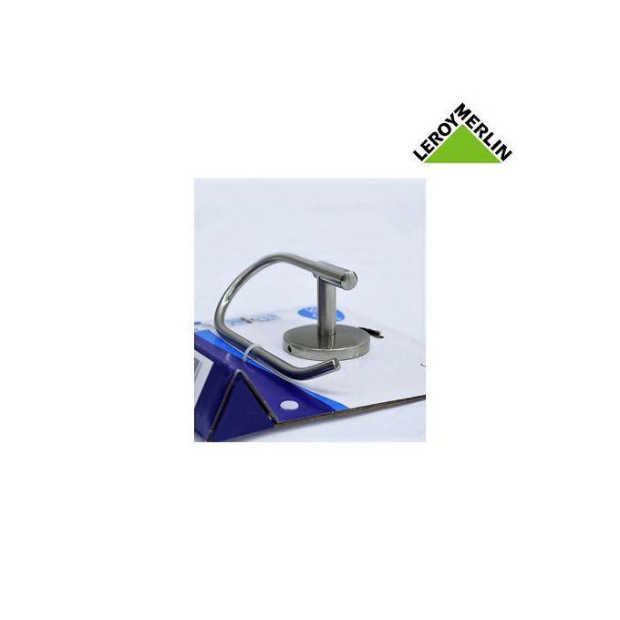 Dérouleur Papier Toilette Acier Sans Couvercle Larg 17cm Suite Porte Papier Wc