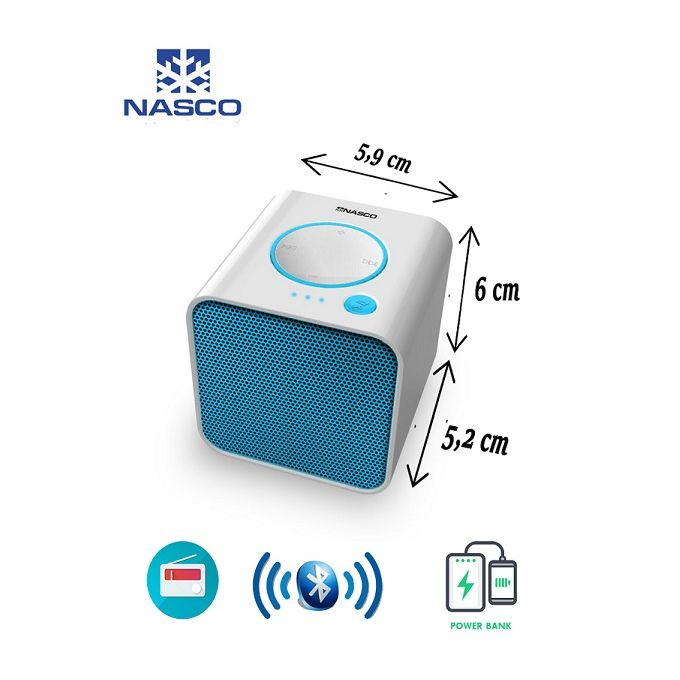 product_image_name-Nasco-Haut-parleur bluetooth - Power bank - 2W - Radio Fm-1