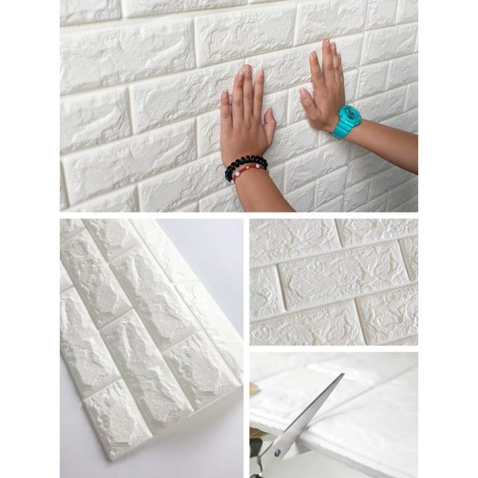 Fashion Revetement Mural 3D - Carrelage Adhesif- 77x70cm - Prix pas cher | Jumia CI