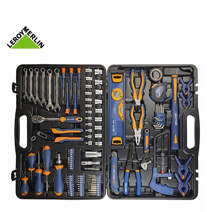 Mallette Boite à Outils 108 Outils Indispensables Garantie 3 Ans