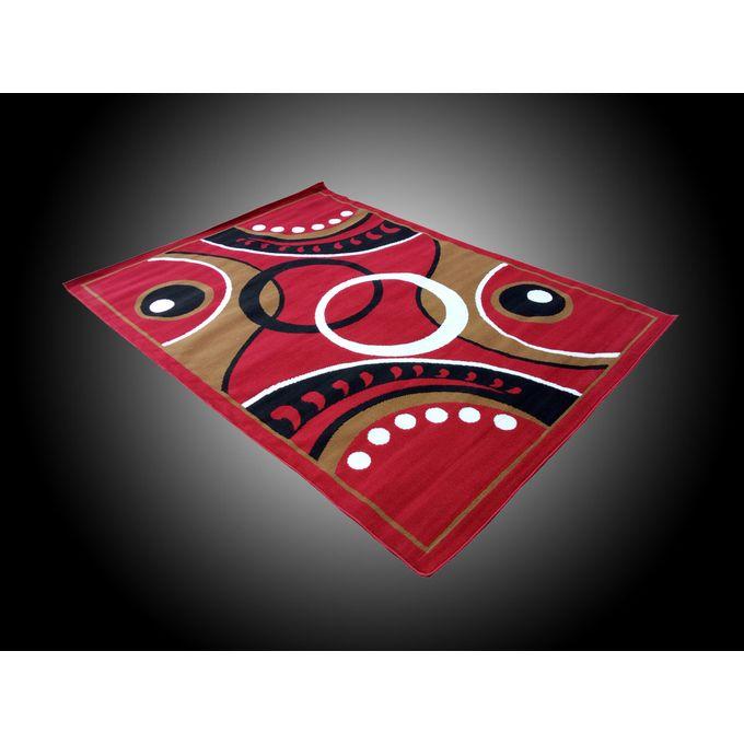 Tapis De Salon Rouge - Marron 220 /160cm