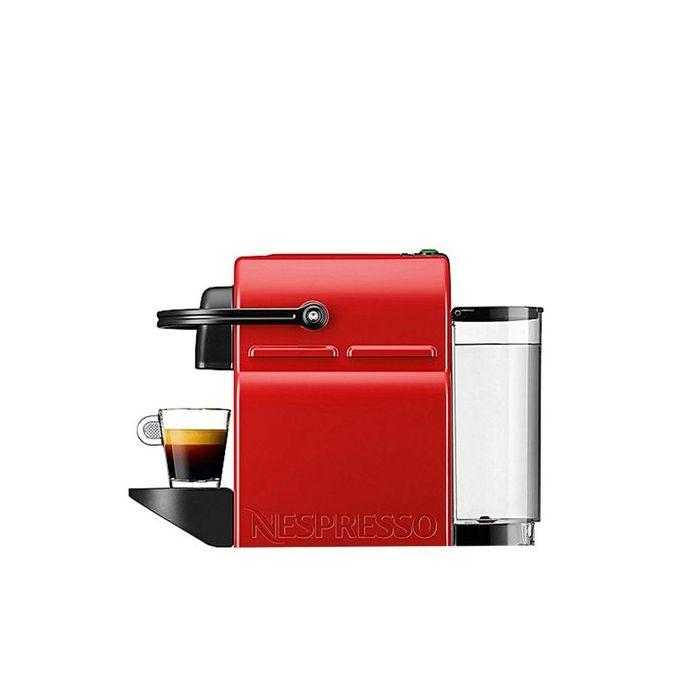Nespresso Machine Nespresso Inissia - Rouge - Prix pas ...