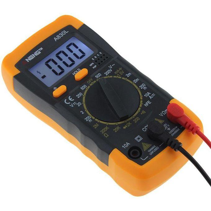 Multimètre Numérique Dc Tension Diode Freguency Transistor Tester
