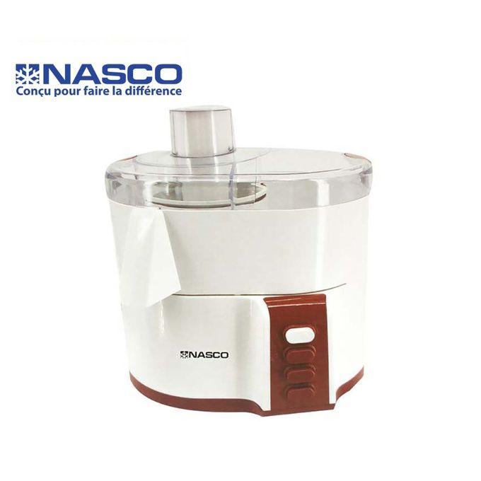 product_image_name-Nasco-Mixeur Multifonction 4 en 1 - JE6010-GS - 1000 - 1500 ML - Blanc/Rouge-1