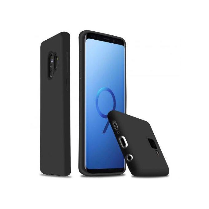 Coque En Silicone Compatible Galaxy S9 Noir