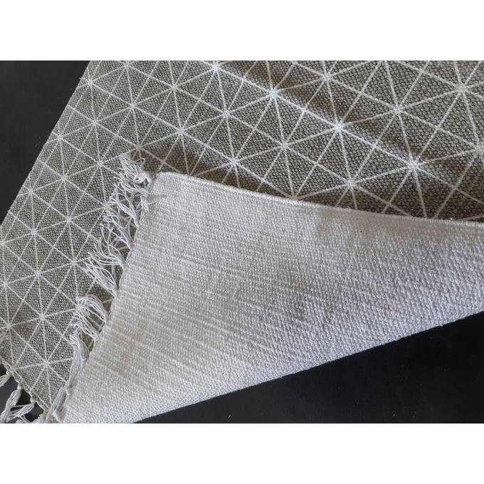 leroy merlin tapis  gris  60x90 cm  100 coton