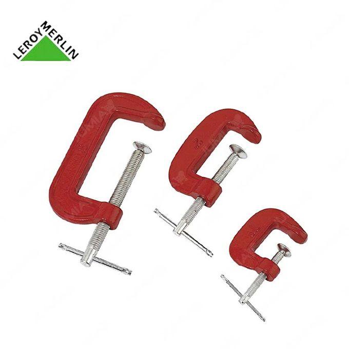 3 Serre Joints à Vis Long 10 8 5cm Larg 5cm Garantie 1 An