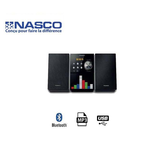 product_image_name-Nasco-Chaîne Hi-Fi - 20 W - HIFI_SN-S658 - Usb - MP3 - Radio Fm - Carte Mémoire - Noir-1