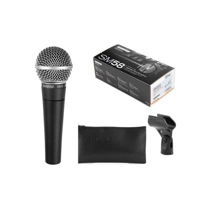 Shure Microphone Shure Sm58 Prix Pas Cher Jumia Ci