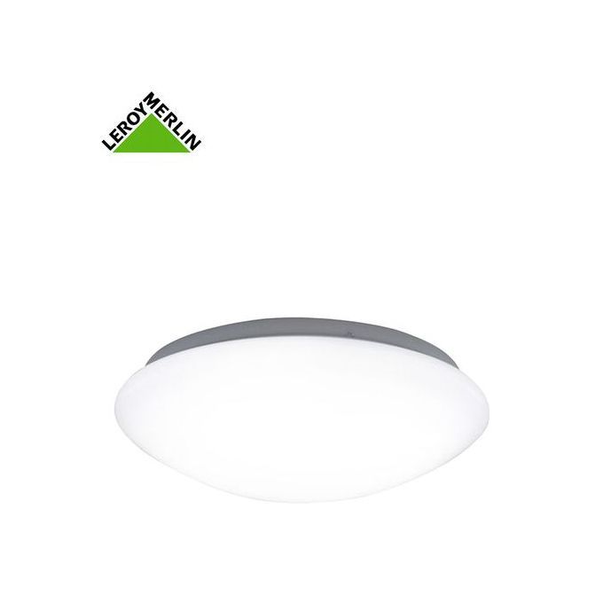 Plafonnier Madyled Ampoule Led 12w Fournie Diam 25cm Blanc Froid Compatible Salle De Bain Garantie 3 Ans