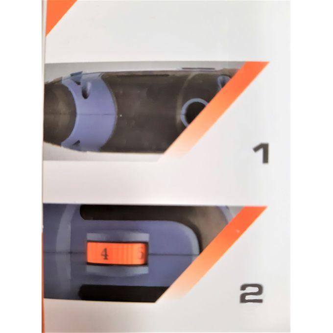 Leroy Merlin Mini Perceuse Electrique - 150W + 60 Accessoires - Garantie 1 An - Prix pas cher ...