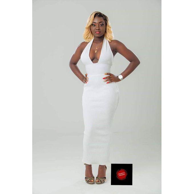 Fashion Robe Longue Sexy Blanc Prix Pas Cher Jumia Ci
