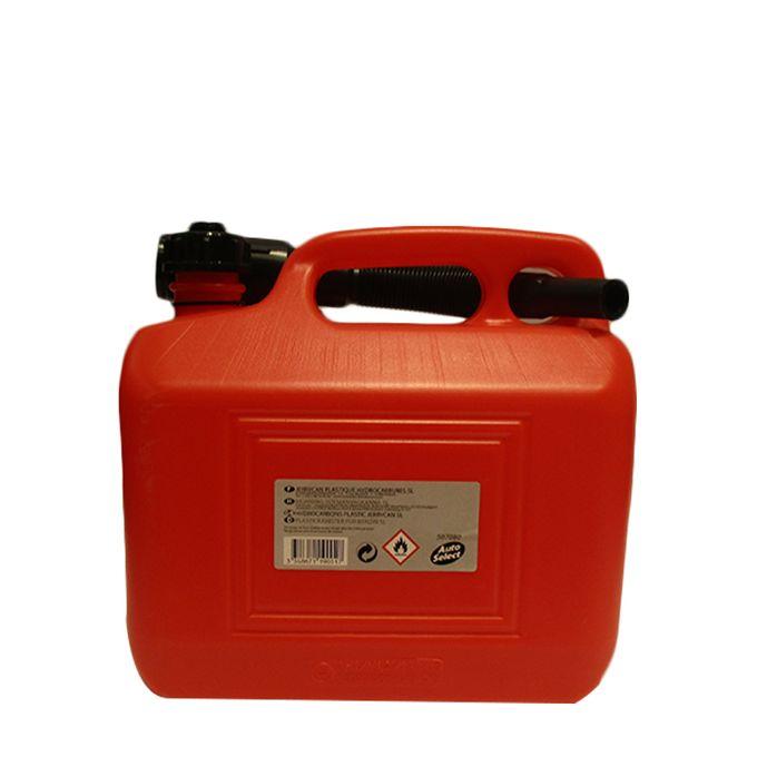 Jerrican Plastique Hydrocarbures 5l Rouge
